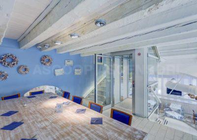 Piattaforma elevatrice Trattoria Trieste