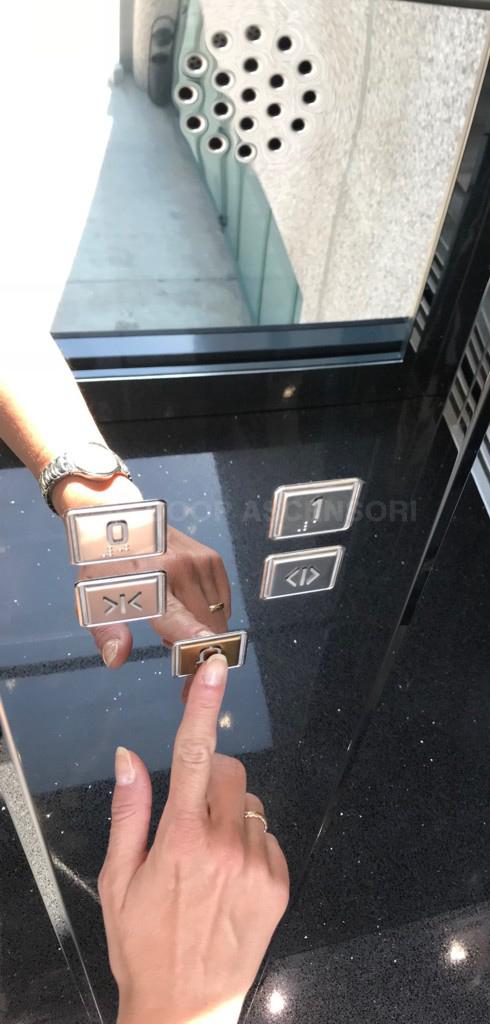 allarme bidirezionale ascensore